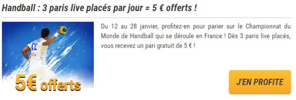 Promo France Pari handball