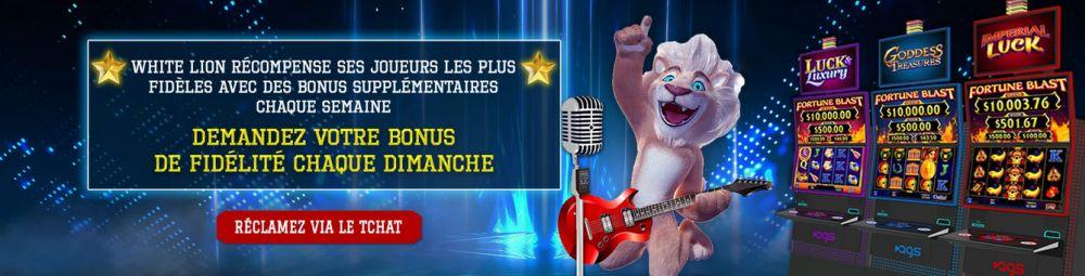 Promo White Lion