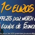 Promotion Parions Sport sur le Championnat mondial de handball