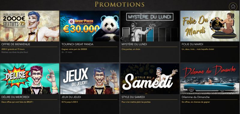 Promotions Casino Joka