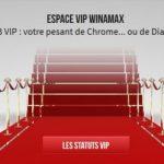 Statut VIP Winamax : cumulez des miles pour un maximum d'avantages