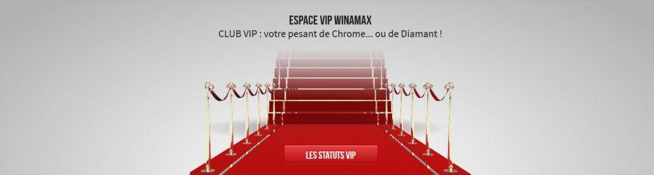 Statut VIP Winamax : cumulez un maximum de miles