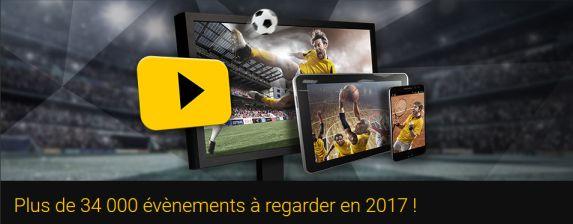 Vidéos Streaming matchs en direct sur Bwin