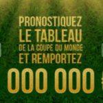 Tableau Coupe du Monde 2018 Winamax : un jeu gratuit et 1 million d'euros à la clef !