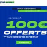 Comment obtenir le bonus Parions Sport FDJ de 100€ CASH ?