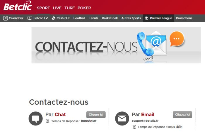 contact Betclic