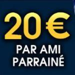 Parrainage Netbet: recevez 20 euros de bonus par filleul