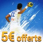 Promotion Championnat du monde de handball: 3 paris live = 5 euros offerts
