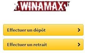 Retrait dépôt Winamax