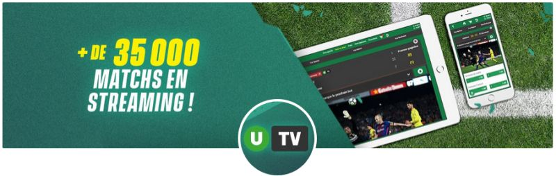 streaming gratuit Unibet TV