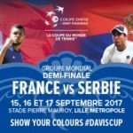 Demi-finale Coupe Davis 2017 : France-Serbie