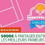 Parier sur l Open Sud de France: cagnotte de 5000€ sur le PMU